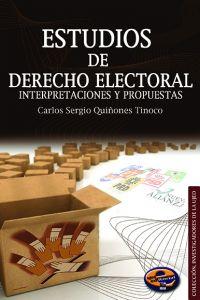 Estudios de Derecho Electoral